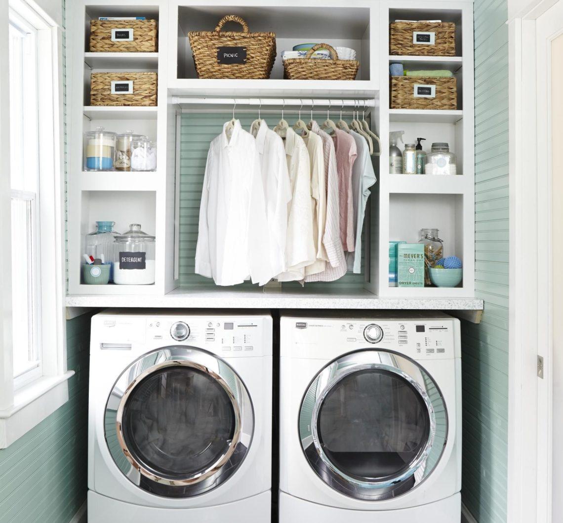 lavanderia pequena apartamento